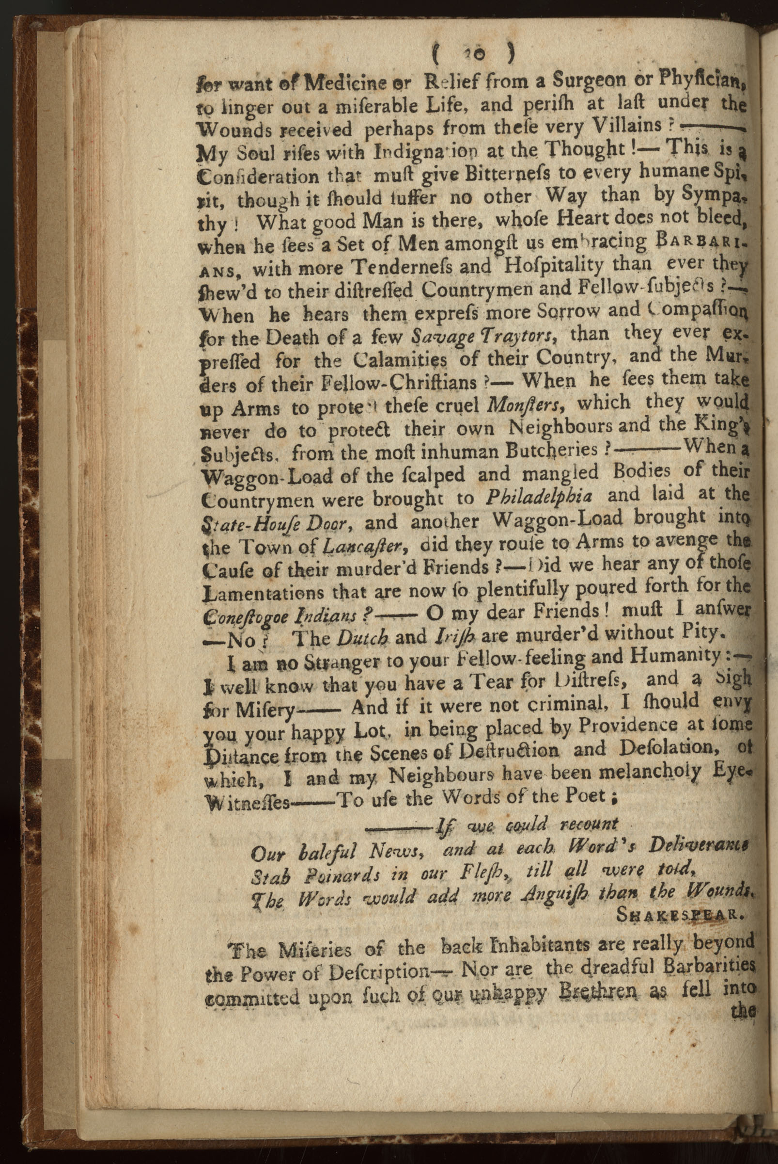 the conduct of the paxton men impartially represented front matter 1764 a defense of the paxton boys in reply to benjamin franklin s a narrative of the late massacres